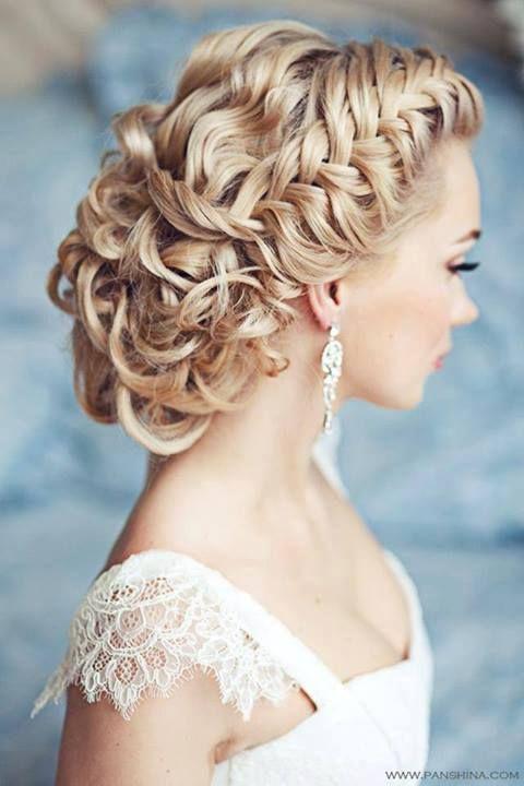 frizura pletenica profinjena vjencanje posebne prilike